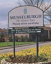 Musselburgh Town Sign